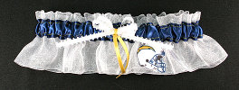 San Diego Chargers Football Bridal Garter-San Diego, Chargers, pro sports, sport, NFL, national football league, professional, madden, football, Wedding, garter, garters, garter belt, reception, sew unique garters, prom, special garters, novelty garters, bride, bridal