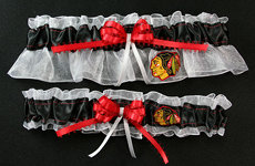 Chicago Blackhawks Hockey Garter Set