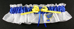 St. Louis Blues Hockey Bridal Garter