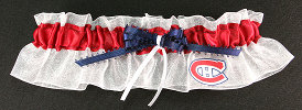 Montreal Canadiens Hockey Bridal Garter