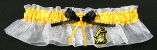 Appalachian State University Mountaineers Bridal Keepsake Garter