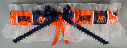 Auburn University Tigers Keepsake Wedding Bridal Garter