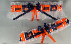 Auburn University Tigers Wedding Garter Set
