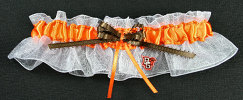 University of Bowling Green Falcons Keepsake Wedding Bridal Garter