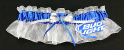 Bud Light Beer Bridal Garter