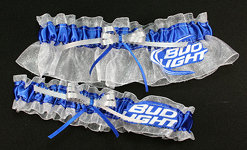 Bud Light Beer Garter Set