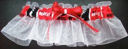 University of Cincinnati Bearcats Keepsake Bridal Wedding Garter