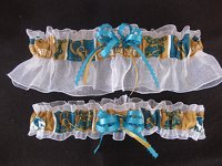 Colorado State University Rams Wedding Garter Set