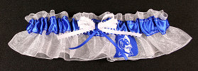 Duke University Blue Devils Keepsake Bridal Wedding Garter