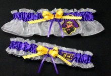 East Carolina University Pirates Wedding Garter Set