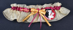 Florida State University Seminioles Applique Keepsake Bridal Garter
