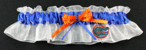 University of Florida Gators Applique Keepsake Bridal Wedding Garter
