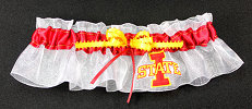 Iowa State University Cyclones Keepsake Bridal WeddingGarter