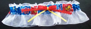 University of Kansas Jayhawks Keepsake Bridal Wedding Garter