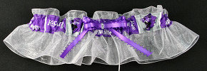 Kansas State University Wildcats Keepsake Bridal Wedding Garter