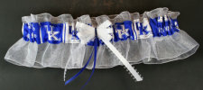 University of Kentucky Wildcats Keepsake Bridal Wedding Garter