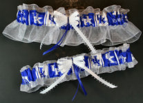 University of Kentucky Wildcats Wedding Garter Set