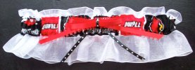 University of Louisville Cardinals Bridal Keepsake Garter