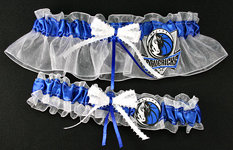 Dallas Mavericks Basketball Garter Set