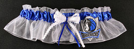 Dallas Mavericks Basketball Bridal Garter