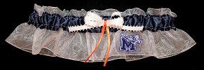 University of Memphis Tigers Keepsake Bridal Wedding Garter