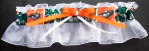 University of Miami Hurricanes Keepsake Bridal Wedding Garter