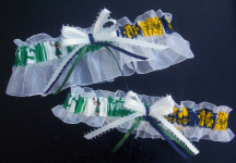 Michigan Michigan State Mix Garter Set