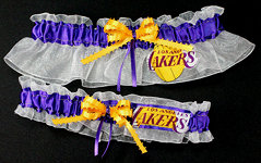 Los Angeles Lakers Garter Set
