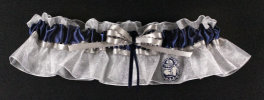 Georgetown University Hoyas Keepsake Bridal Wedding Garter