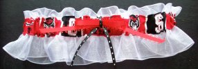 North Carolina State Bridal Garter