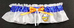 New York Islanders Hockey Bridal Garter