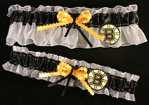 Boston Bruins Garter Set