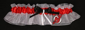 New Jersey Devils Hockey Bridal Garter