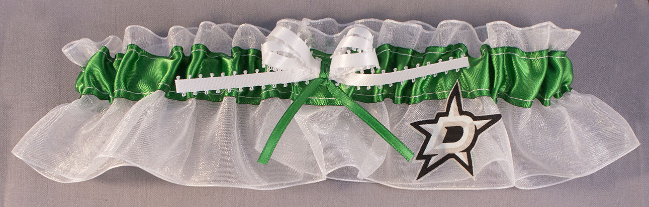 Dallas Stars Hockey Bridal Garter