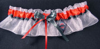 Ohio State Diamond Bridal Garter