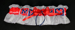 Ole Miss Bridal Garter