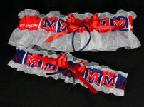 Ole Miss Garter Set