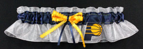 Indiana Pacers Basketball Bridal Garter
