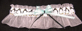 Penguin Bridal Garter