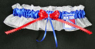 New York Rangers Hockey Bridal Garter