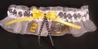 Rusty Wallace Wedding Garter