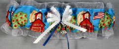 School House Bridal Garter