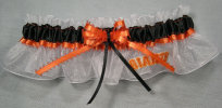 San Francisco Giants Baseball Bridal Garter-San Francisco, Giants, pro sports, baseball, major league baseball, professional, sport, home run, mlb, Wedding, garter, garters, garter belt, reception, sew unique garters, prom, special garters, novelty garters, bride, bridal