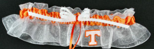 Tennessee Applique Bridal Garter