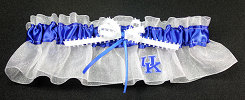 University of Kentucky Wildcats Keepsake Applique Bridal Garter