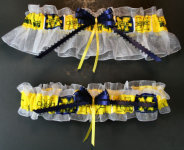 Michigan Garter Set