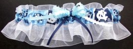 North Carolina Bridal Garter