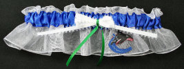 Vancouver Canucks Hockey Bridal Garter